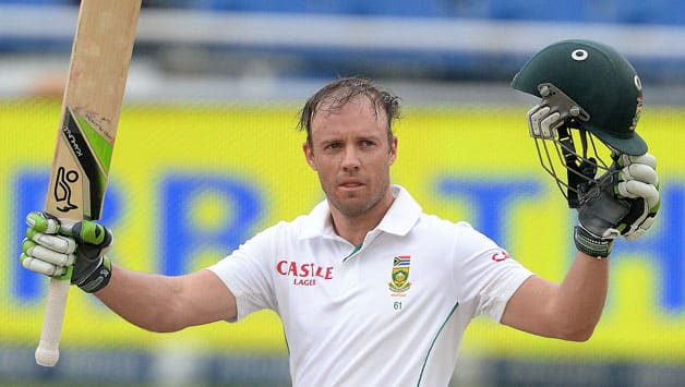 AB de Villiers (above) is the best candidate to fill in for Jacques Kallis at the No 4 spot © Getty Images