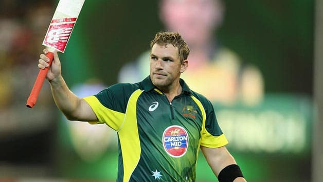 Aaron Finch scored 108 runs © Getty images
