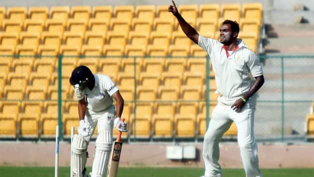 Karnataka have bowled well and countered Uttar Pradesh © PTI