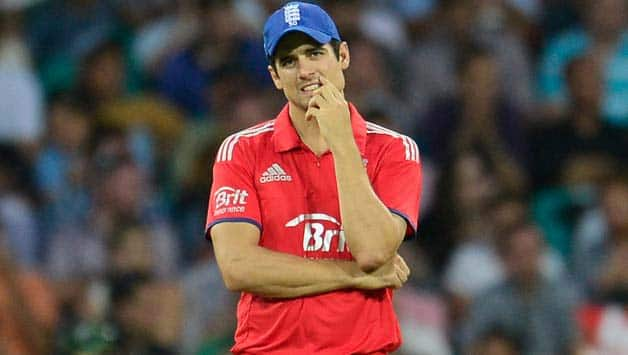 Cook who has had a disastrous tour with England has hinted at stepping down as ODI skipper © Getty Images