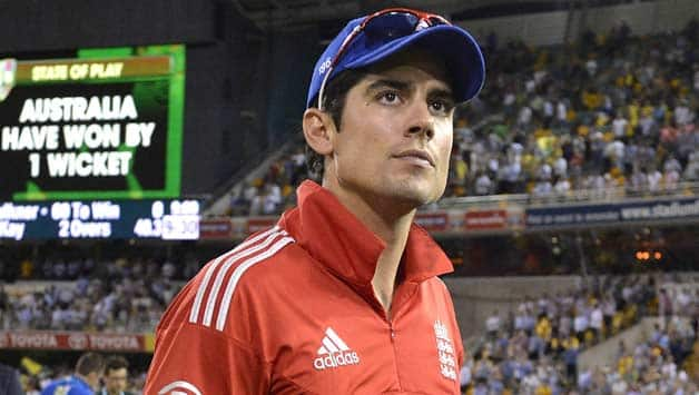 Alastair Cook has had a rough journey with the bat and his captaincy in this series © Getty Images