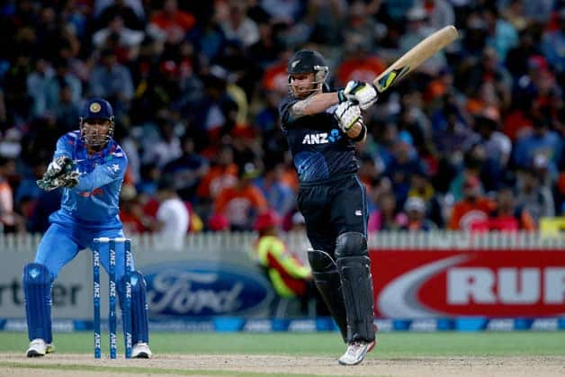 MS Dhoni has lambasted his bowlers after losing the ODI series against New Zealand © Getty Images