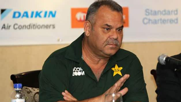 Under Dav Whatmore, Pakistan have not won a single test series © AFP