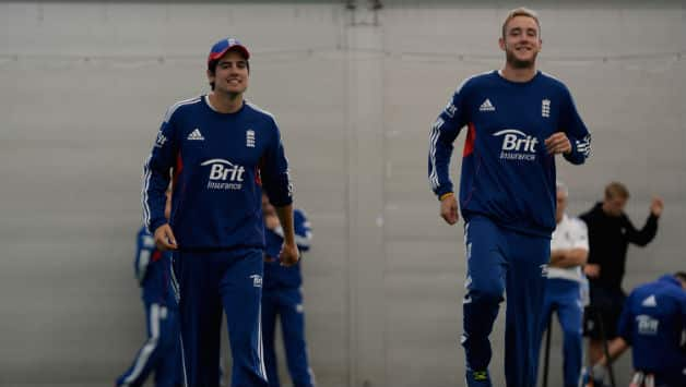 Alastair Cook (left) and Stuart Broad... Time for a change for England? © Getty Images