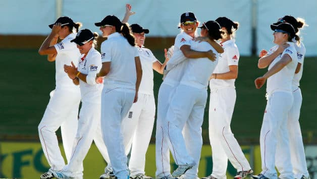 The England women's team defeated their Australian counterparts in the only Ashes Test on Monday © Getty Images