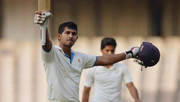 Ganesh Satish fell for 117 on the third day of the Ranji Trophy 2013-14 final © PTI