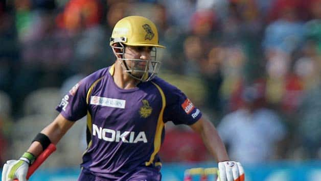Gautam Gambhir led Kolkata Knight Riders to the IPL title in 2012 © PTI
