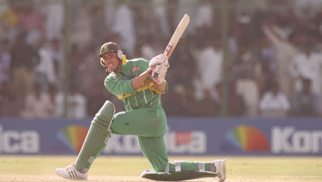 South African captain Hansie Cronje marshalled their resources well against England in 1996 © Getty Images