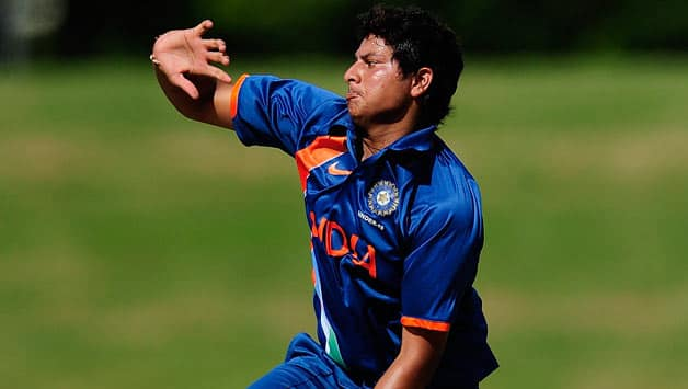 Kuldeep Yadav was pick of the bowlers for India bagging three wickets © Getty Images (File Photo)