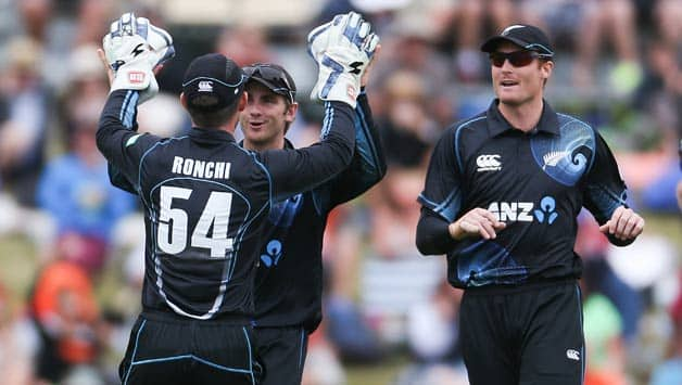 New Zealand lead 5-match ODI series against the West Indies 2-1 © Getty Images