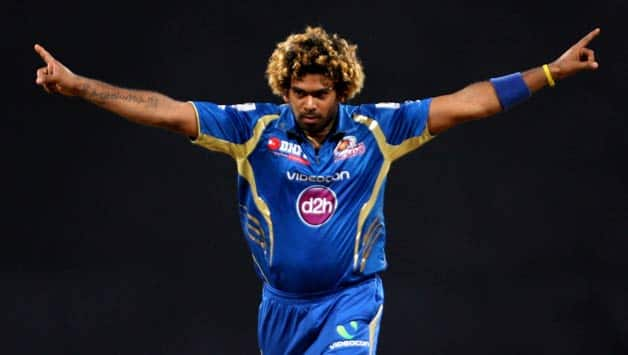 Mumbai Indians chose to retain Lasith Malinga (above) over Mitchell Johnson © IANS