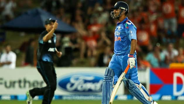 MS Dhoni's team continued to be in discomfort while playing the short ball © Getty Images