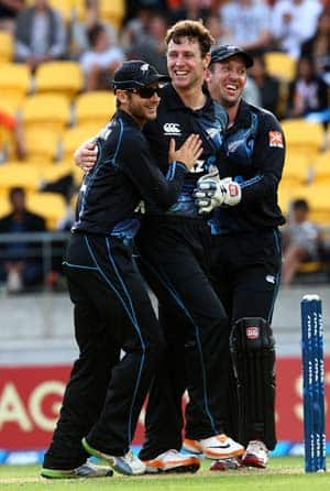 Debutant Matt Henry sizzled for New Zealand breaking the Indian top order © Getty Images