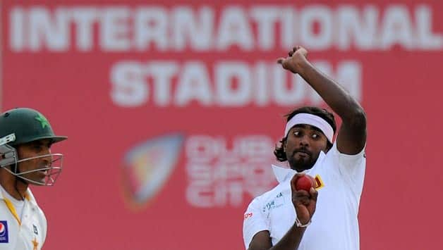 Sri Lankan pacer Nuwan Pradeep has been the pick of the Sri Lankan bowlers in the 2nd Test © Getty Images