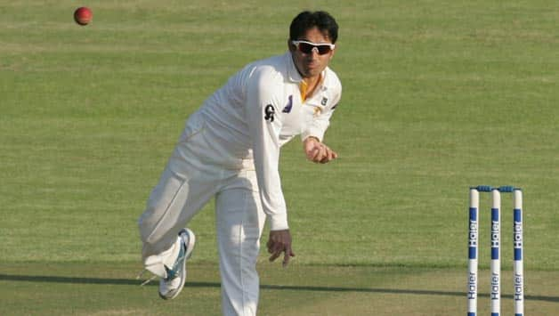 Saeed Ajmal (above) struggled in the first Test but along with Abdur Rehman the spin duo will be eager to strike © AFP