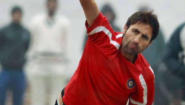 Parvez Rasool (above) broke the partnership between Mandeep Singh and Gurkeerat Singh © PTI (File Photo)