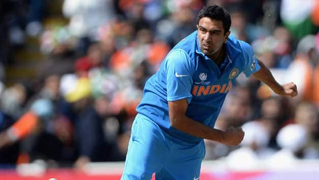 Ravichandran Ashwin (in picture) might lose his ODI spot to Amit Mishra or Stuart Binny during the New Zealand tour © Getty Images