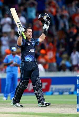 Ross Taylor  scored 112 runs © Getty Images