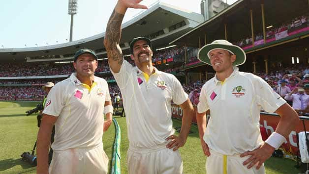 Ryan Harris moves up, Mitchell Johnson breaks into top ten of ICC Test bowler rankings