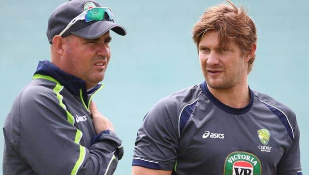 Shane Watson one of the four players who was dropped by Mickey Arthur in the infamous 'homeworkgate' controversy © Getty Images