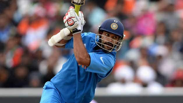 Shikhar Dhawan was dismissed for 32 © Getty Images (File Photo)