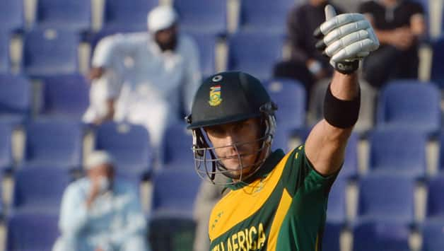 Faf du Plessis has been in sublime form in the Tests and Twenty20 format © AFP