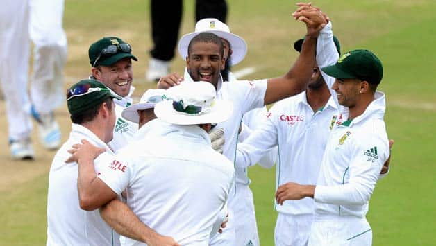 South Africa play Australia in a three- match Test series © Getty Images