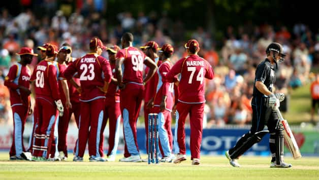 West Indies aim to square the series by winning the second T20 International © Getty Images