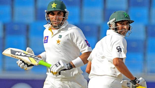 Apart from Misbah-ul-Haq (left) and Younis Khan, the other young batsmen have failed to grab the opportunities to cement their place in the side © AFP
