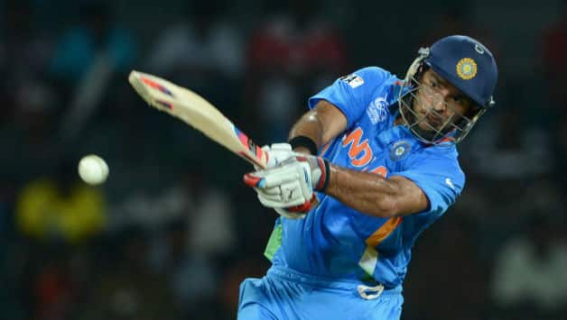Yuvraj Singh last played for India during the tour of South Africa in December 2013 © Getty Images