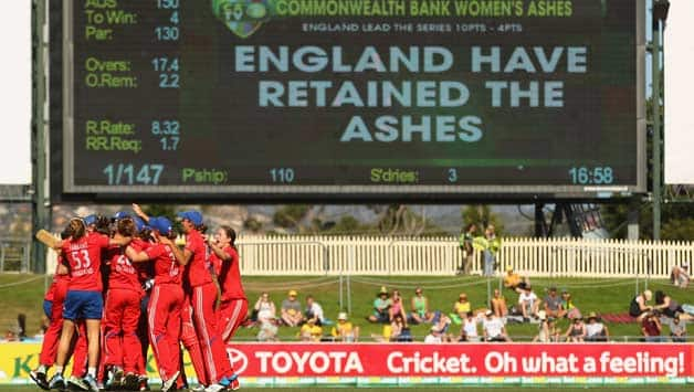 England women retained the Ashes over Australia women © Getty Images