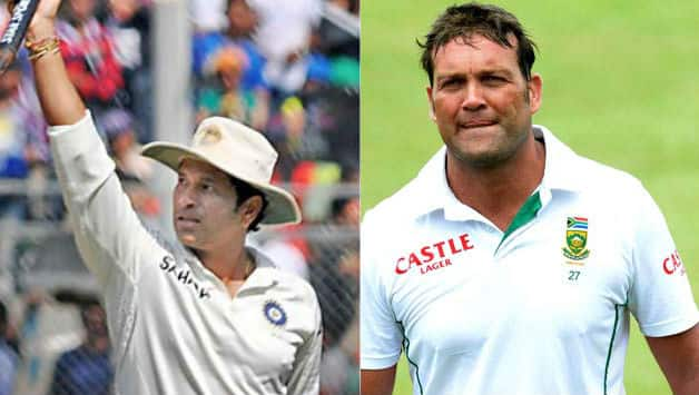 Sachin Tendulkar and Jacques Kallis have been arguably the greatest cricketers of our times © IANS & Getty Images