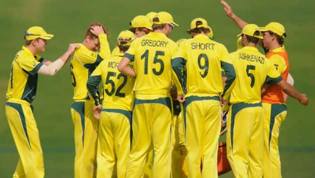 Australia will play South Africa in the ICC Under-19 World Cup 2014 semi-final. Photo Courtesy: ICC Cricket.com
