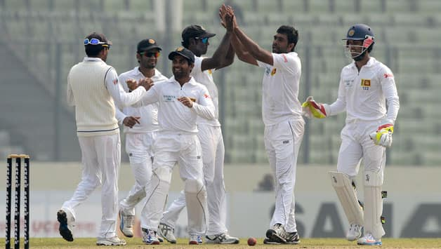 Sri Lanka won the first Test by a convincing margin © AFP