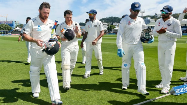 Brendon McCullum led the fightback on Day Four and put New Zealand in command of the second Test © Getty Images