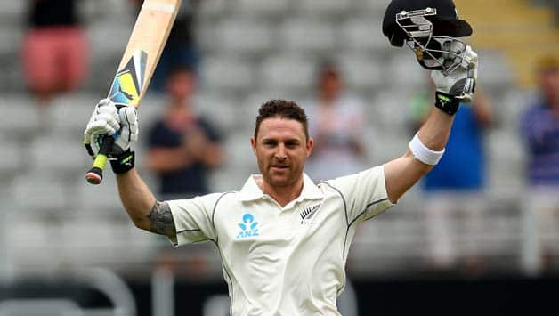 Brendon McCullum also completed his 5,000 Test runs © Getty Images