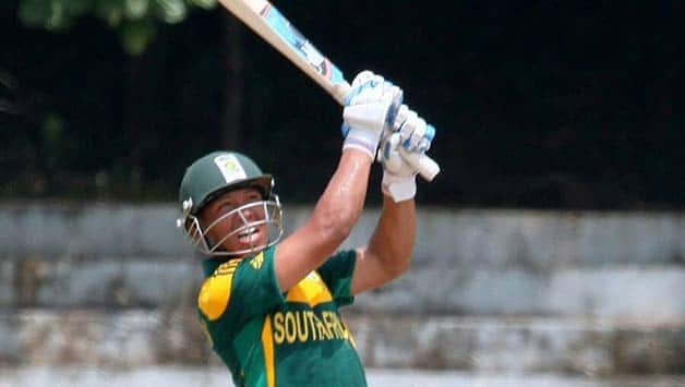 Clyde Fortuin top-scored with 72 runs  Photo Courtesy: Clyde Fortuin's Facebook page