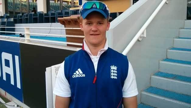 Ben Duckett's (above) style of batsmanship has an uncanny resemblance to England middle-order batsman Eoin Morgan. Photo Courtesy: Nishad Pai Vaidya
