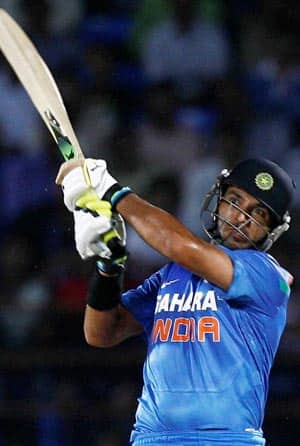 Yuvraj Singh will look to make his mark in ICC World T20 2014 © PTI