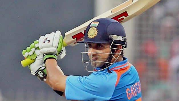 Gautam Gambhir hopes that he can open the innings for India with Virender Sehwag once again © AFP