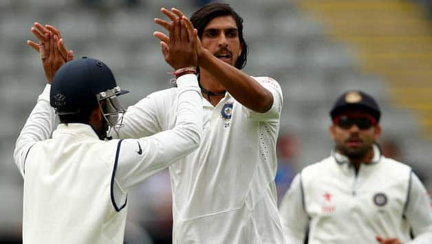 Ishant Sharma took a total of nine wickets in the first Test © Getty Images