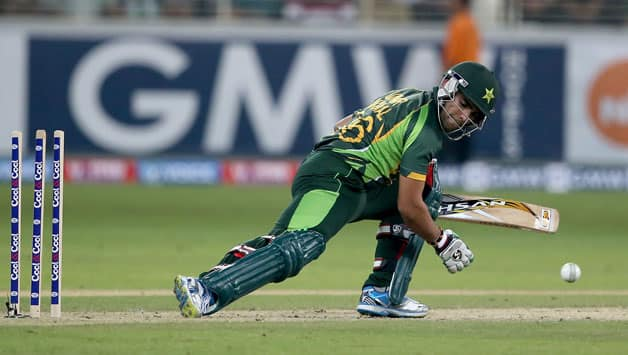 Umar Akmal didn't feature for Pakistan in the series against Sri Lanka © Getty Images