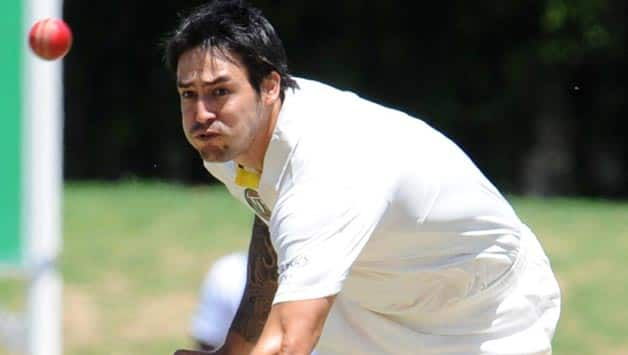 Mitchell-Johnson-of-Australia-bowls-during-day-1-of-the-4-day-match-between-Sout
