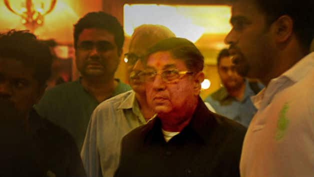 N Srinivasan's Chennai Super Kings will be the cynosure of all eyes during the IPL 2014 auctions © PTI
