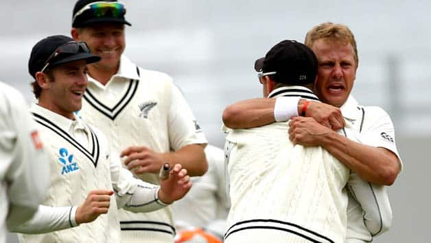New Zealand pacers will be keen to exploit the favourable conditions on the third morning to bag some early wickets © Getty Images