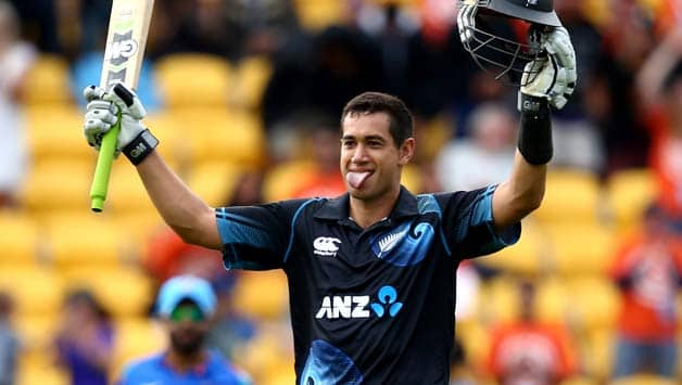 Ross Taylor missed the second Test against India at Wellington to be by his pregnant wife's side   © Getty Images