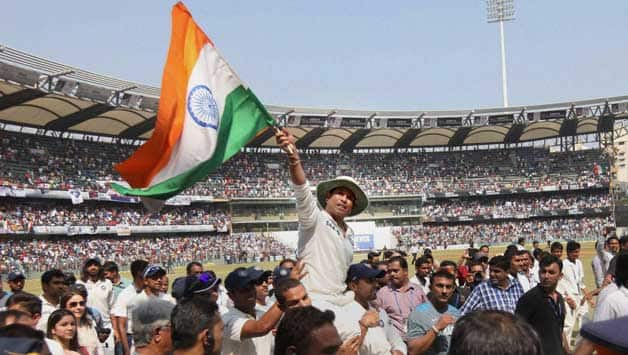 Sachin Tendulkar's (in picture) credibility as the greatest Indian sportsman can hardly be challenged © PTI