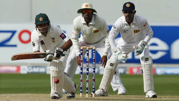 Sarfraz Ahmed (batting in picture) was in fine touch against Sri Lanka in the final Test of the series © Getty Images