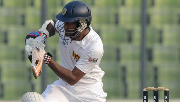 Dimuth Karunaratne started well but failed to capitalise on it © AFP
