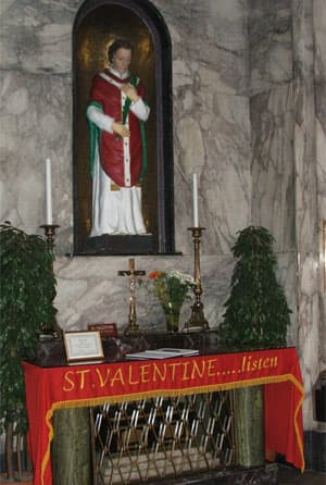 Valentine. Photo Courtesy: Wikipedia Commons